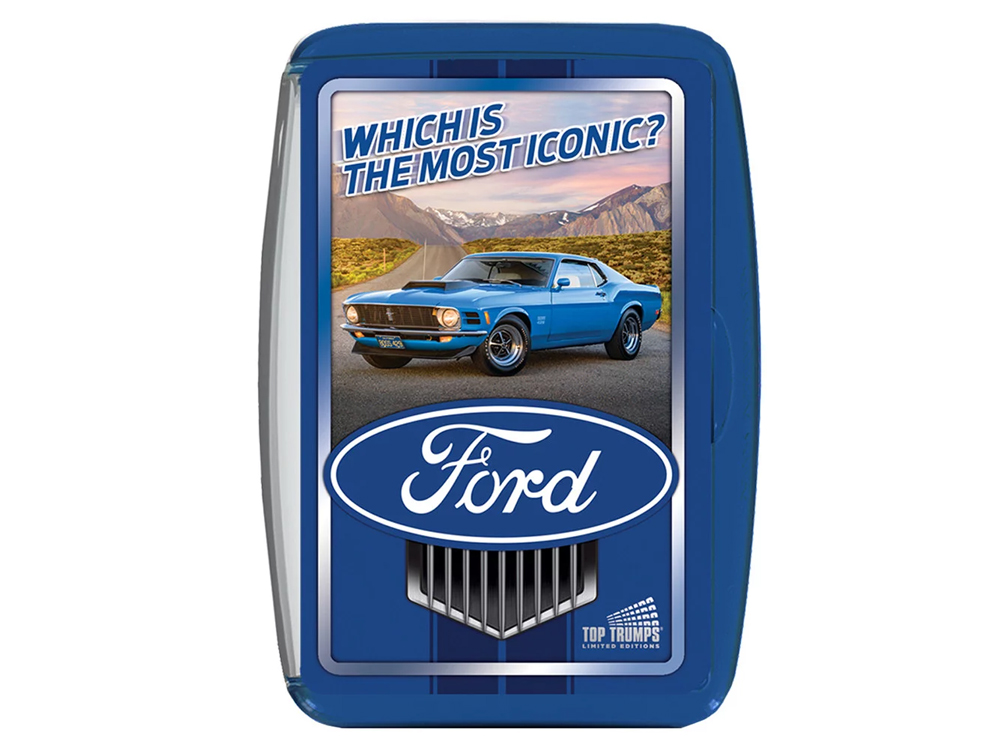 TOP TRUMP FORD MOST ICONIC