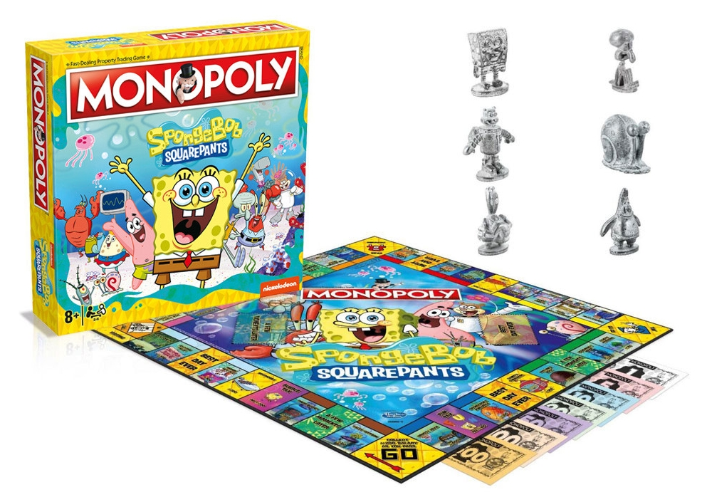 MONOPOLY SPONGEBOB SQUARE PANTS