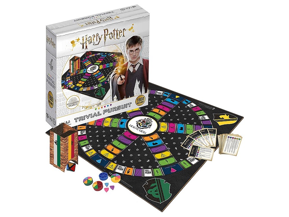 HARRY POTTER TRIVIAL P 1800 Qs
