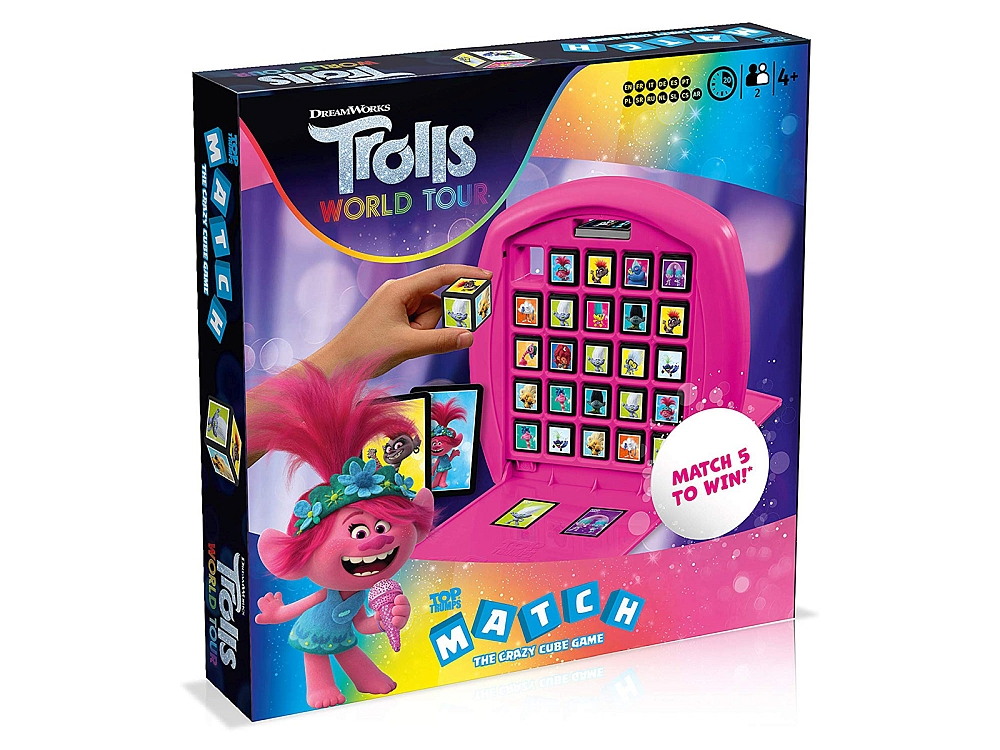 TOP TRUMPS TROLLS MATCH