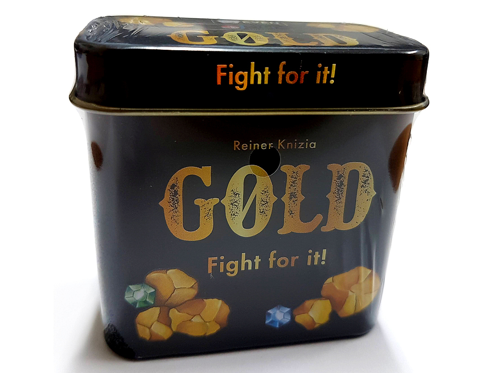 GOLD FIGHT FOR IT (TIN)