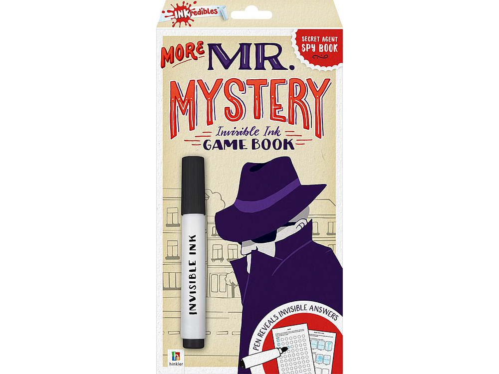 MORE MR MYSTERY INVISIBLE INK