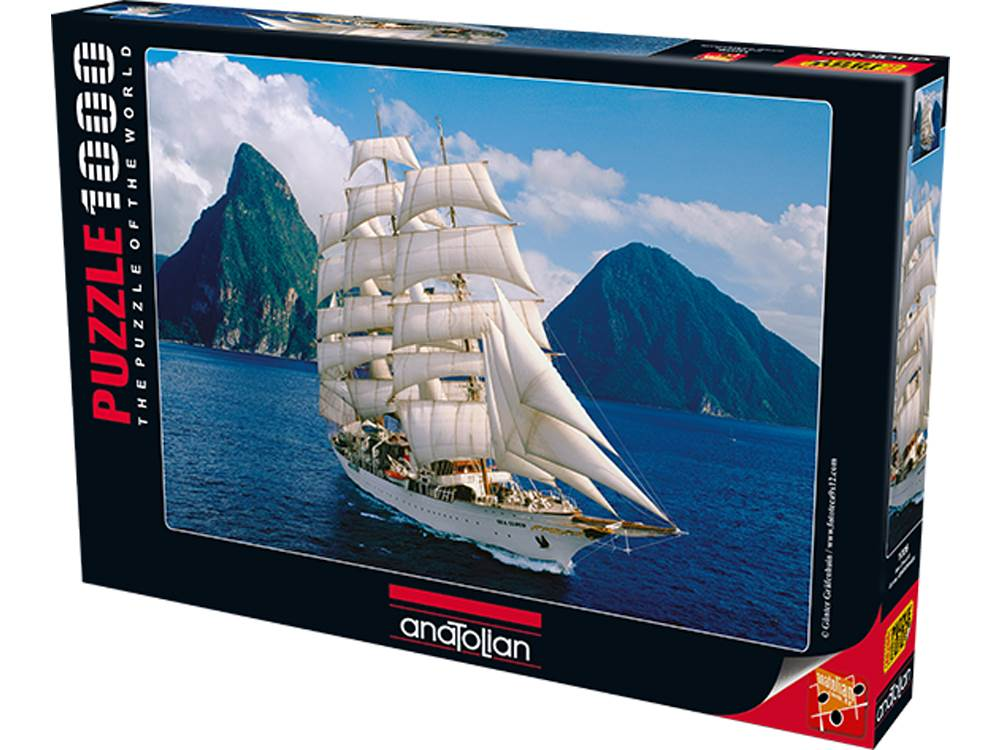 SEA CLOUD II 1000pc