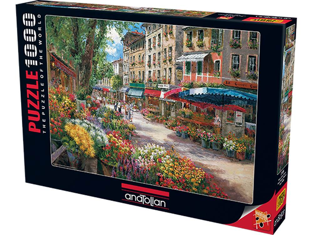PARIS FLOWER MARKET 1000pc