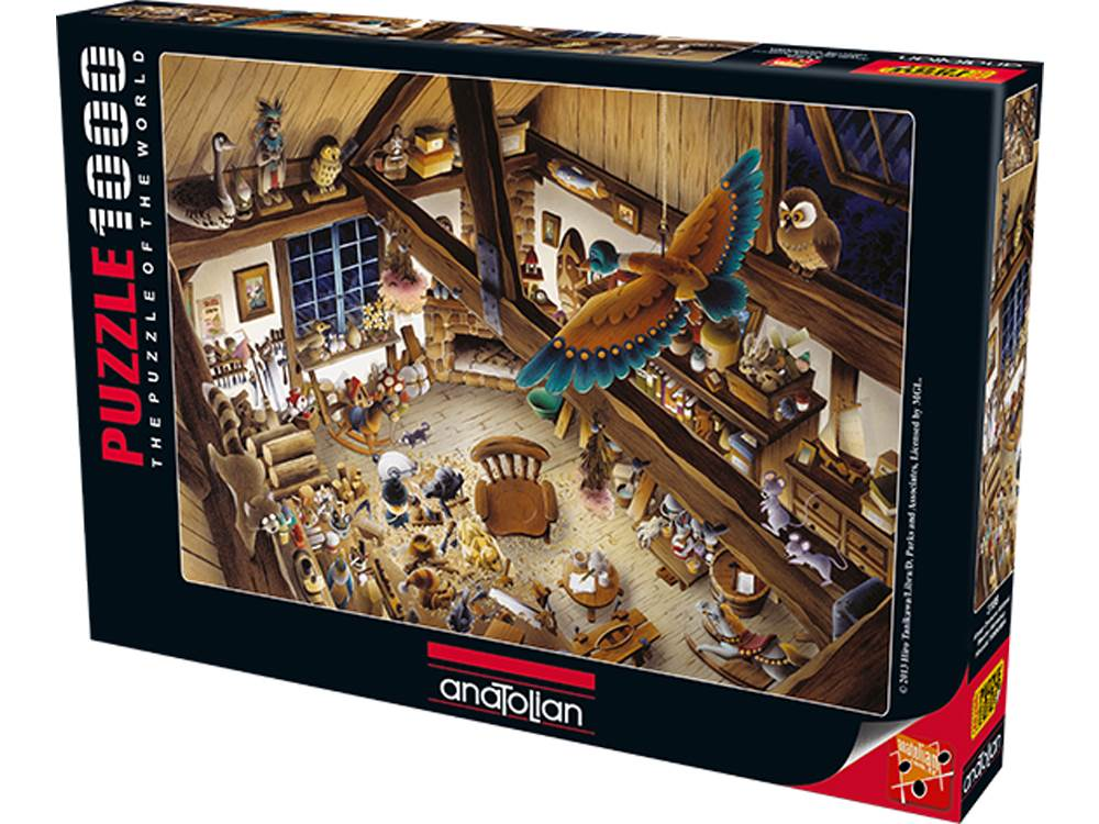 WOODEN WORKSHOP 1000pc