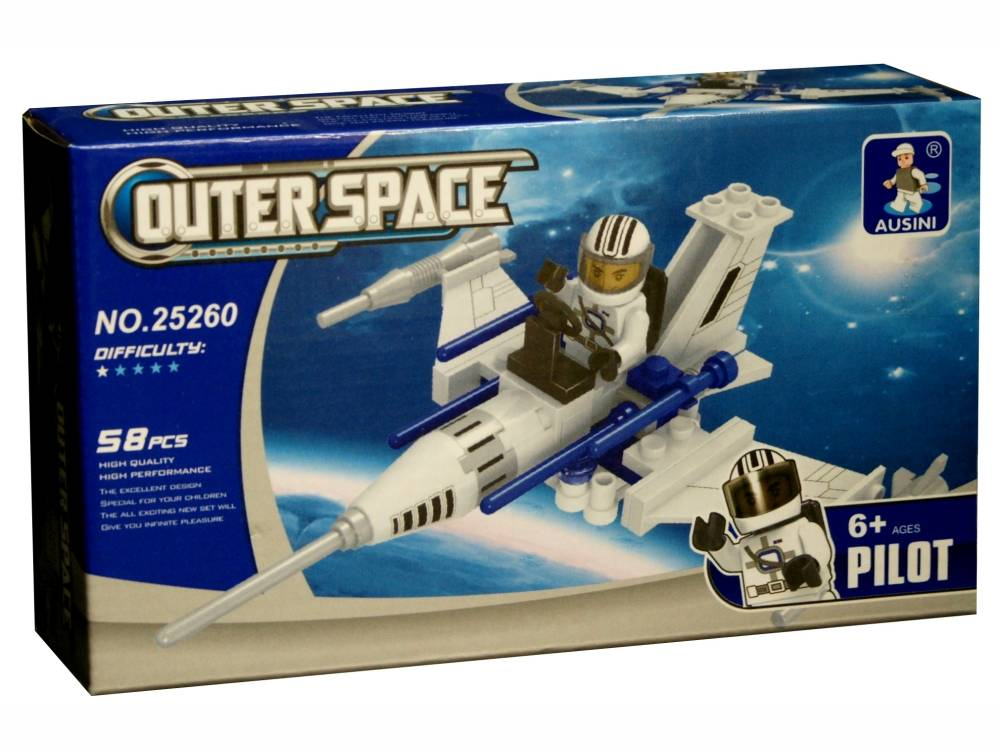 AUSINI OUTER SPACE FIGHTER 58p