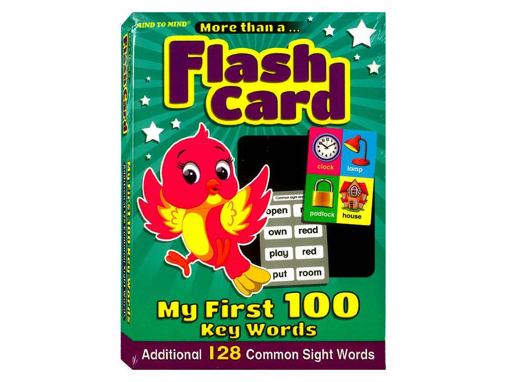 FLASH CARDS FIRST 100 KEY WORD