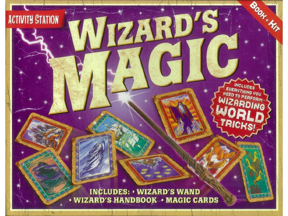 WIZARD'S MAGIC BOOK & KIT