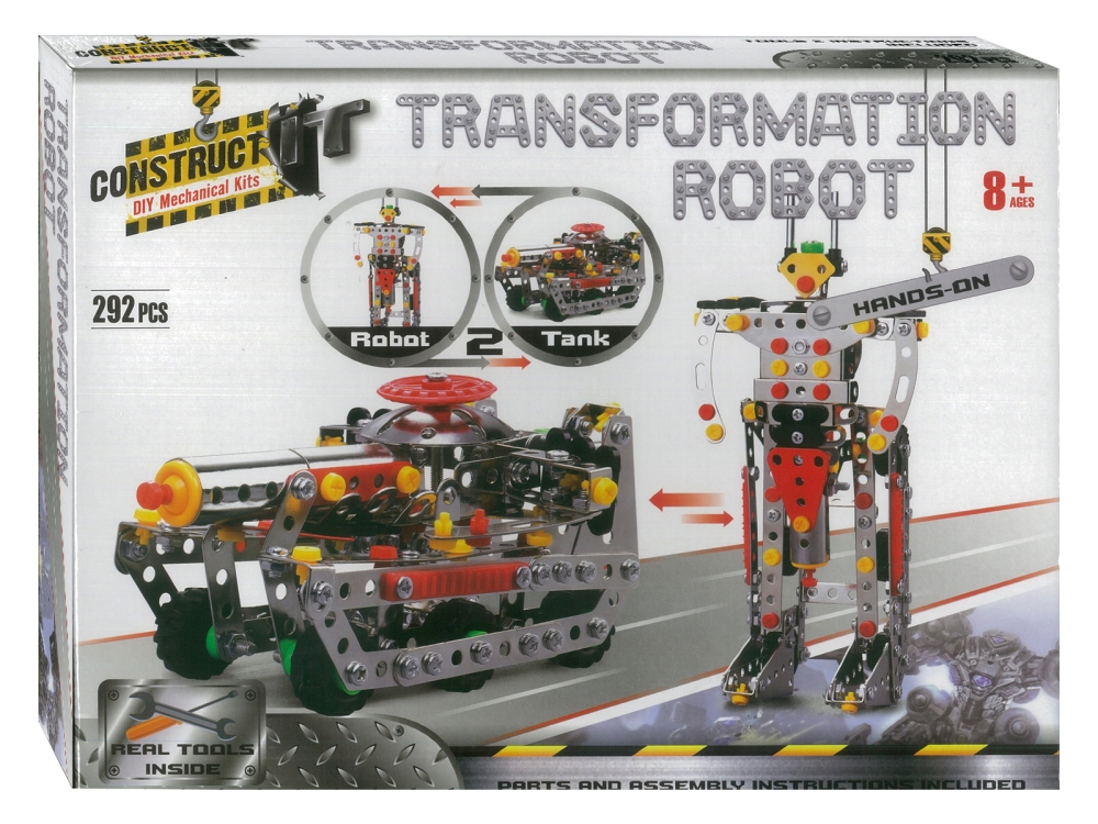 TRANSFORMATION ROBOT KIT