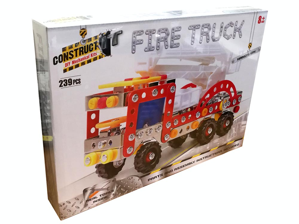 CONSTRUCT IT FIRE TRUCK [BMS003580] : Jedko Games