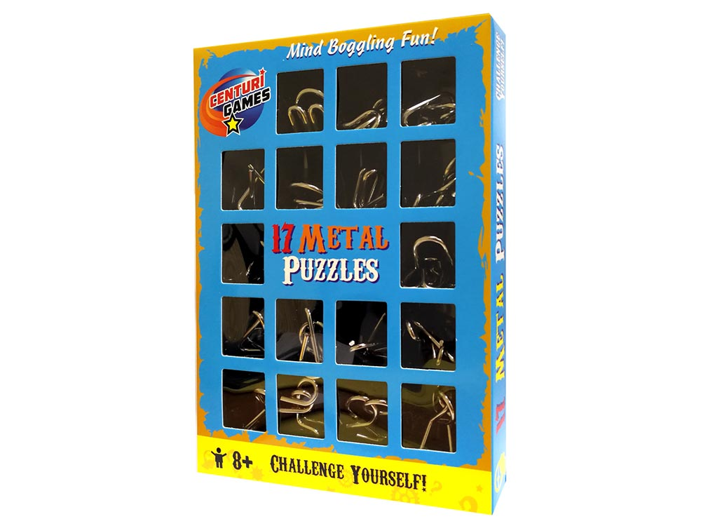 17 METAL PUZZLES PACK