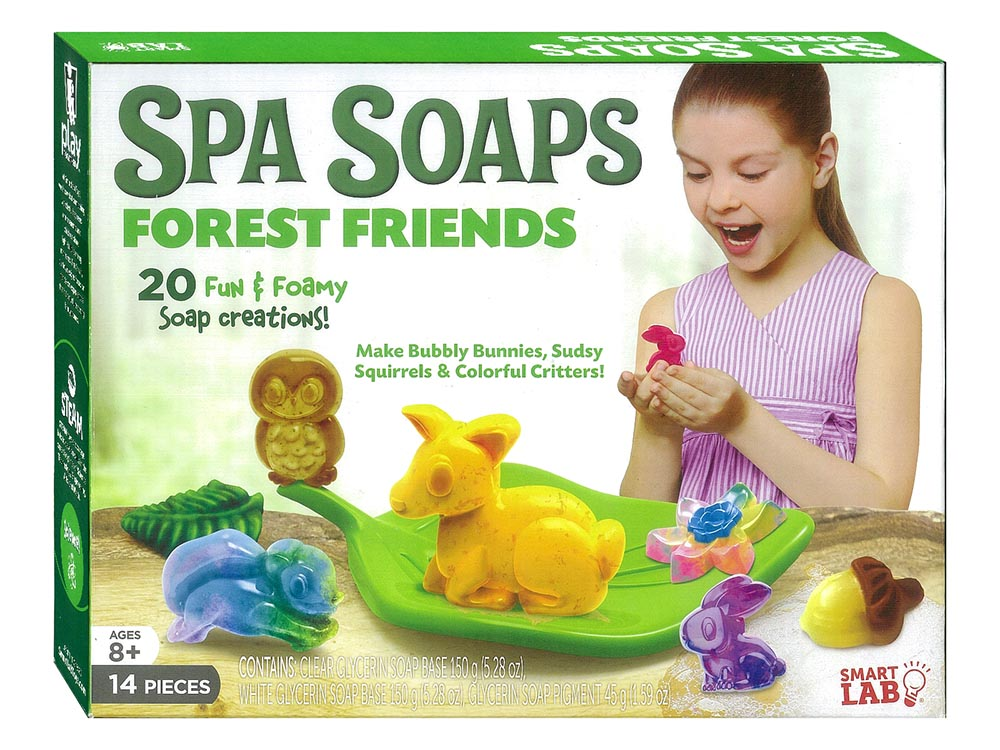 SPA SOAPS FOREST FRIENDS