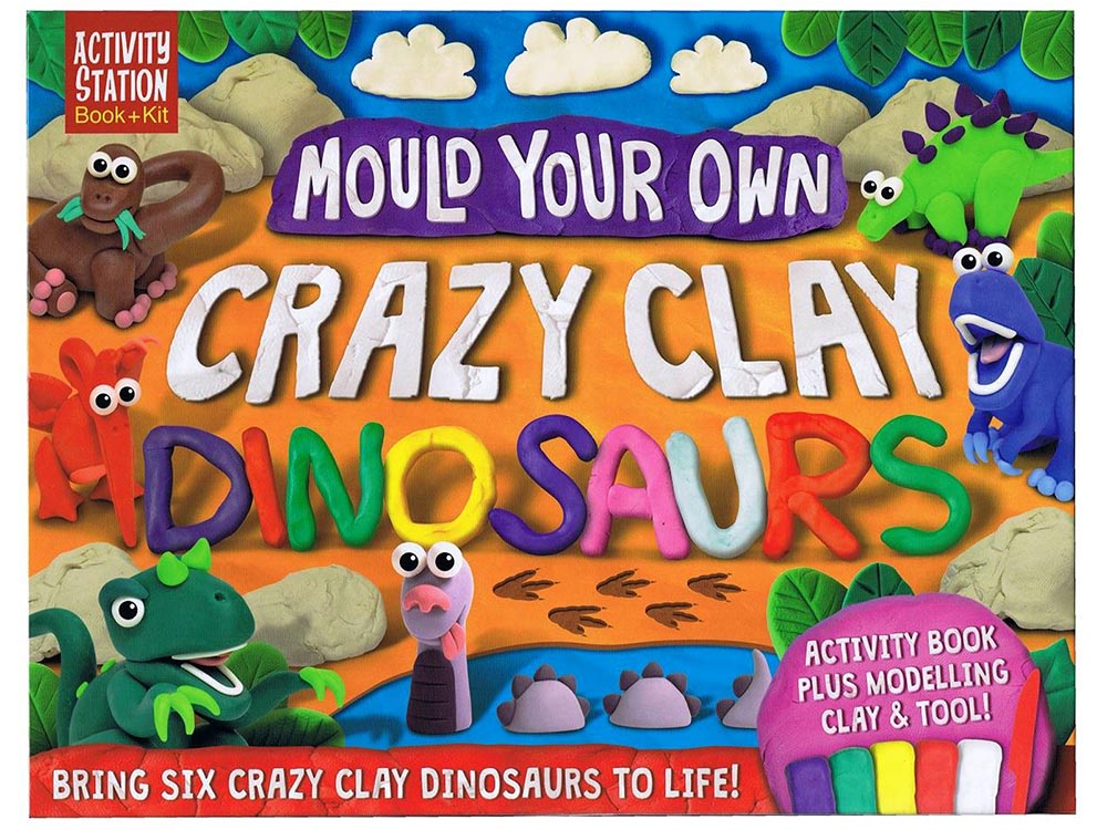 MOULD YOUR OWN CLAY DINOSAURS