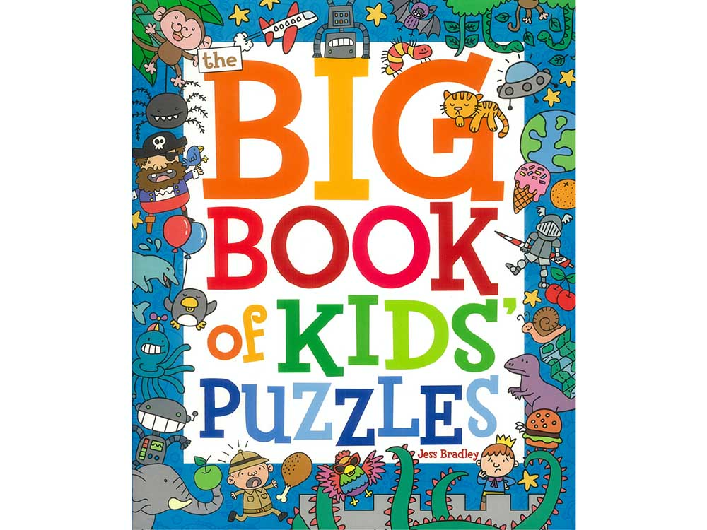 THE BIG BOOK OF KIDS PUZZLES