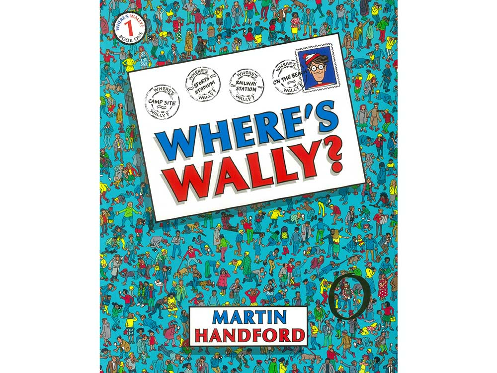 WHERE'S WALLY BOOK 1