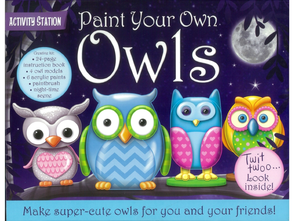 PAINT YOUR OWN OWLS
