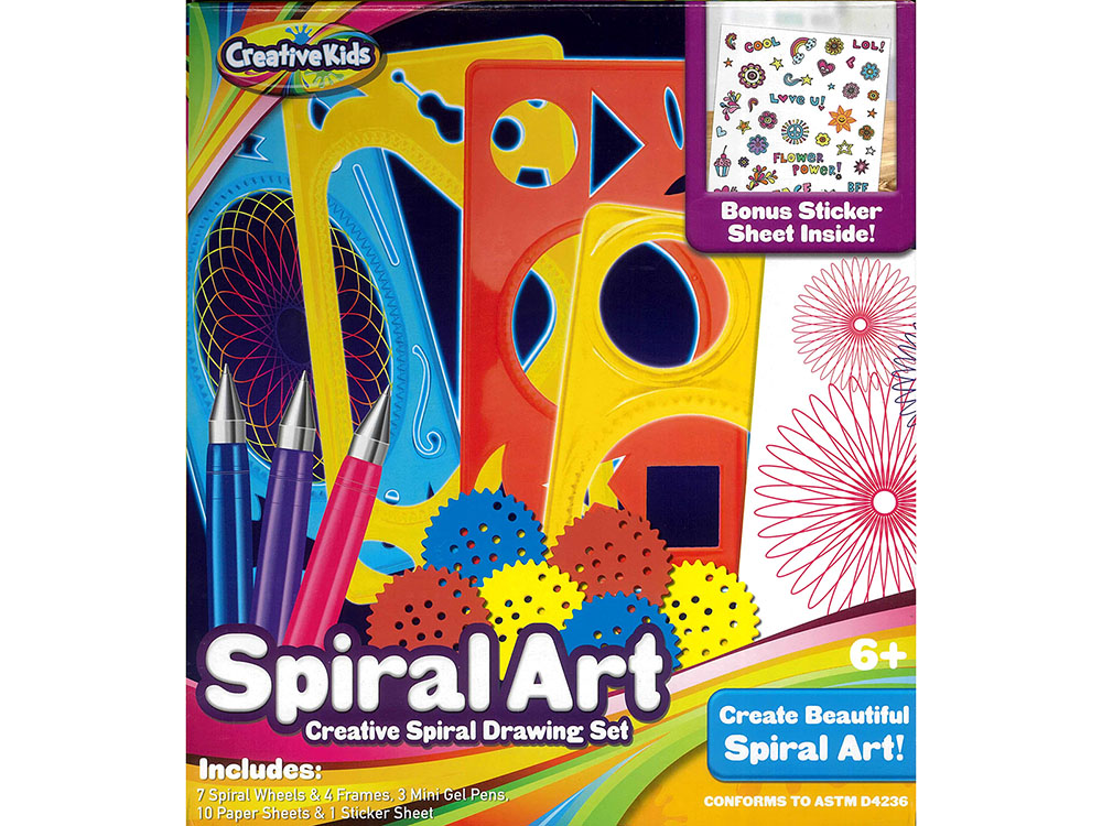 SPIRAL ART DRAWING SET