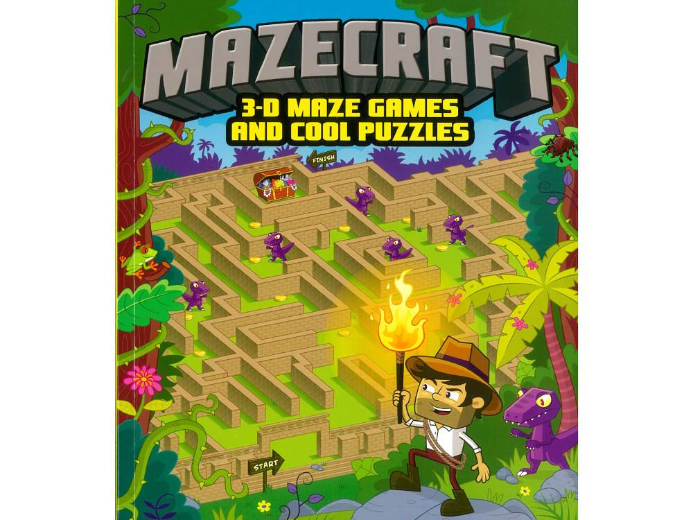 MAZECRAFT 3D MAZE GAMES BOOK