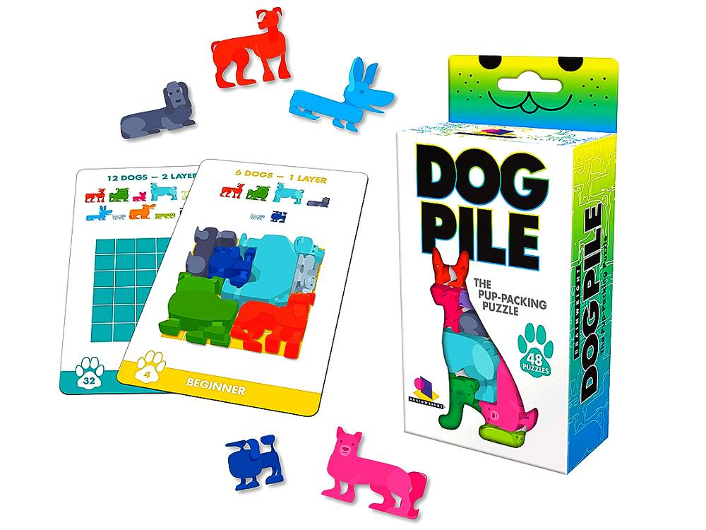 DOG PILE Pup-Packing Puzzle
