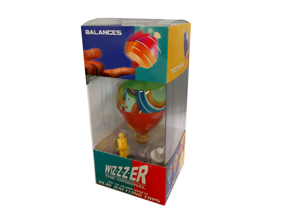 WIZZER - THE ORIGINAL SPIN TOP