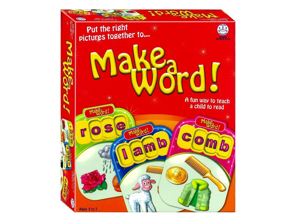 MAKE A WORD Learn To Read