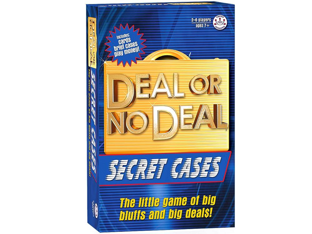 DEAL OR NO DEAL CARD GAME
