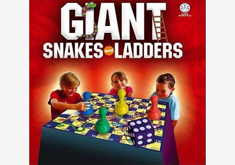 SNAKES AND LADDERS, GIANT