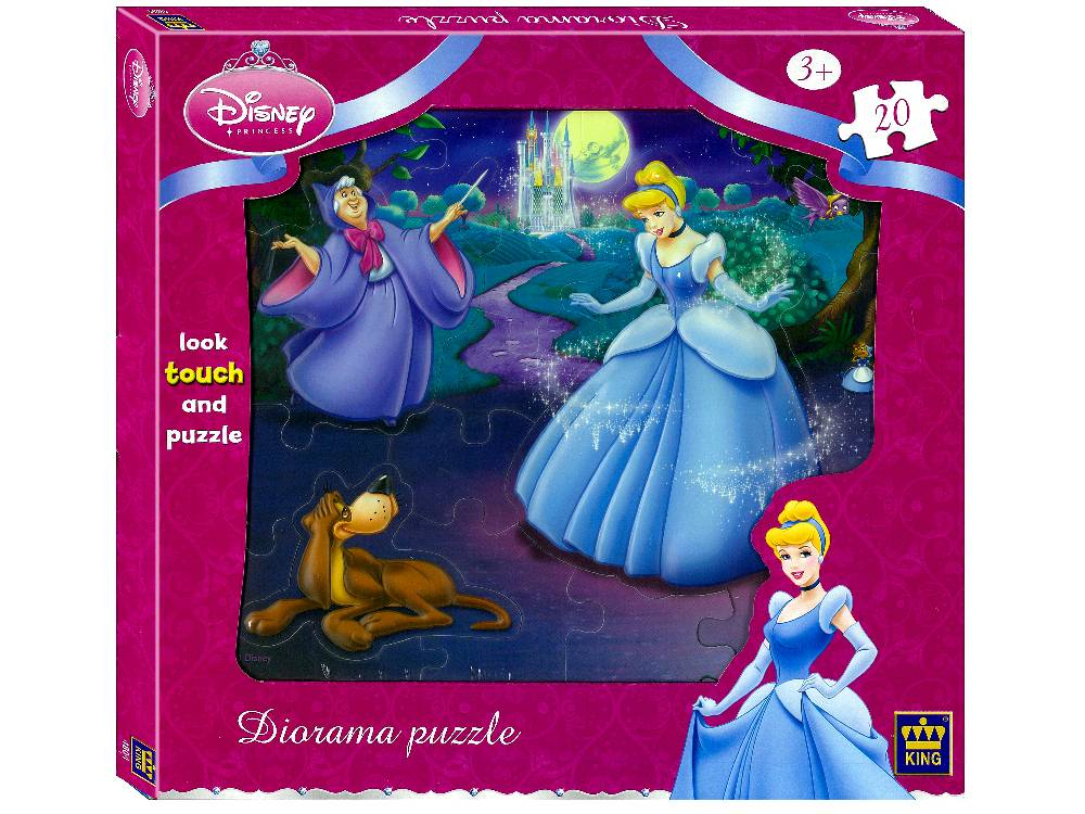 DISNEY DIORAMA 20pc SNOW WHITE