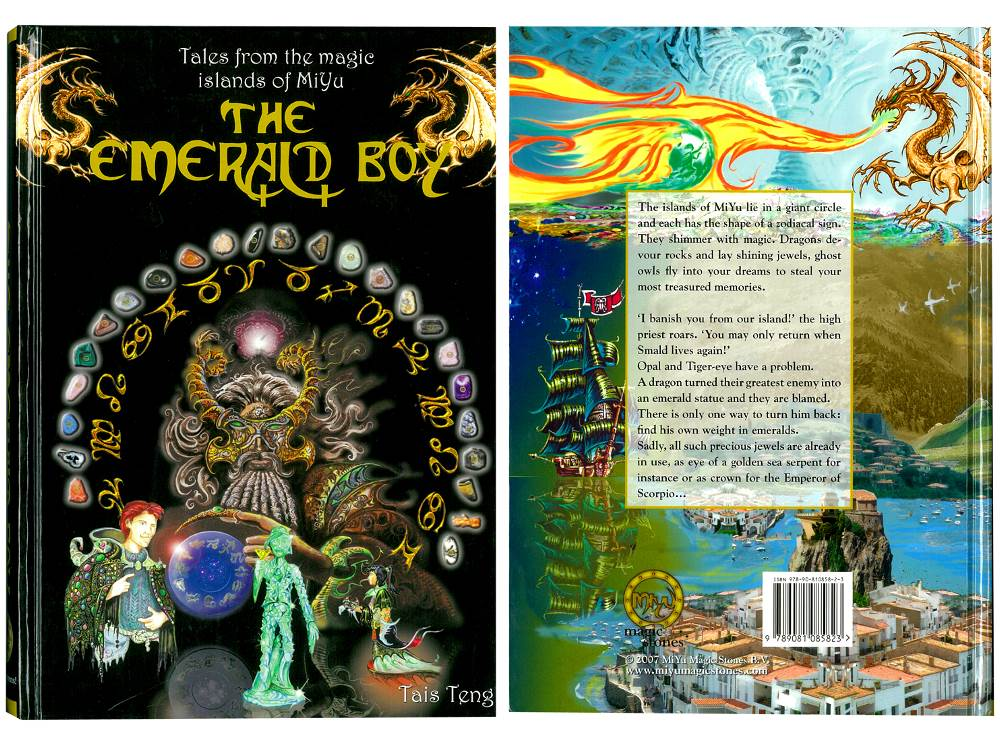 THE EMERALD BOY HARDBACK