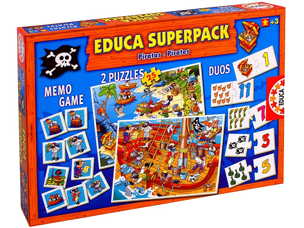 EDUCA SUPERPACK PIRATES