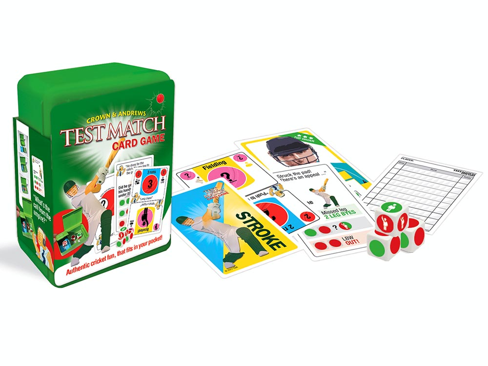 TEST MATCH CARD GAME