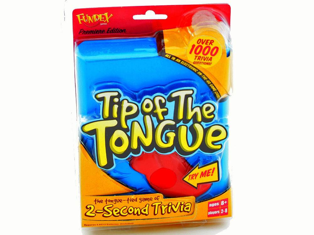 TIP OF THE TONGUE ELECTRONIC