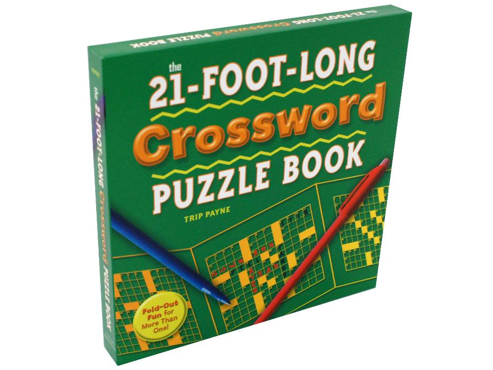21FT LONG CROSSWORD PUZZL.BOOK