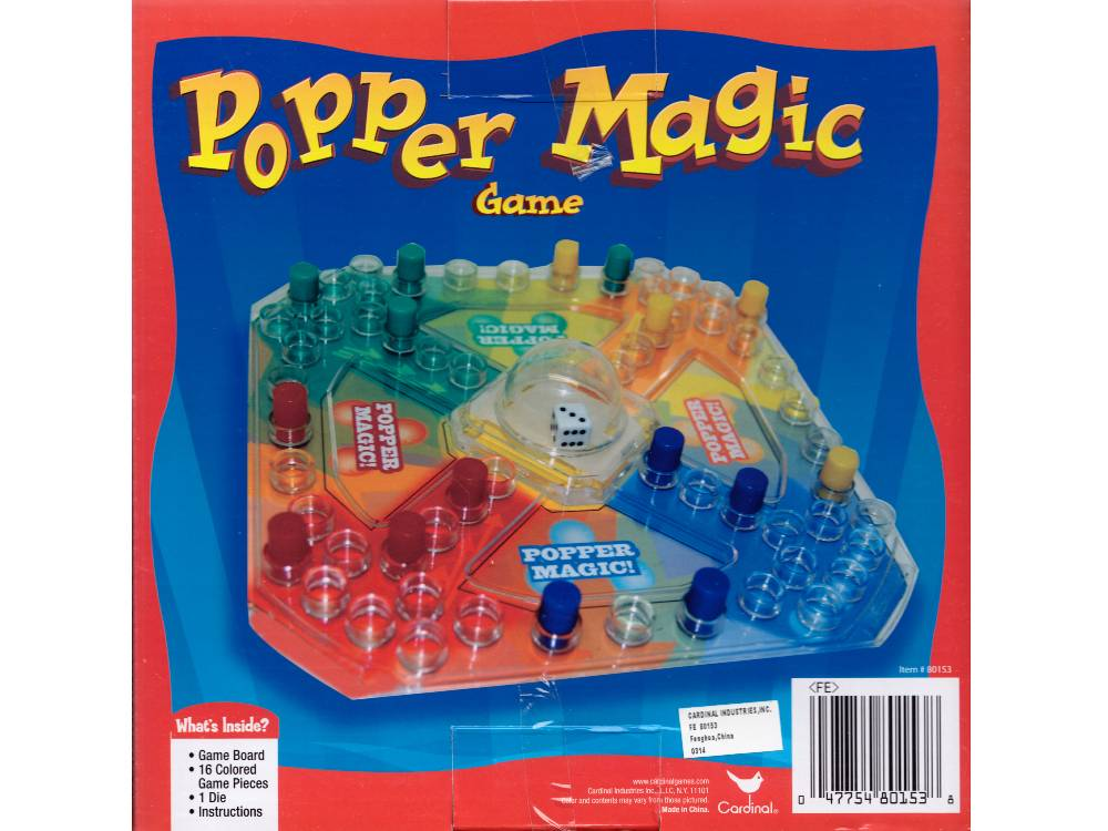 POPPER MAGIC TRAVEL GAME