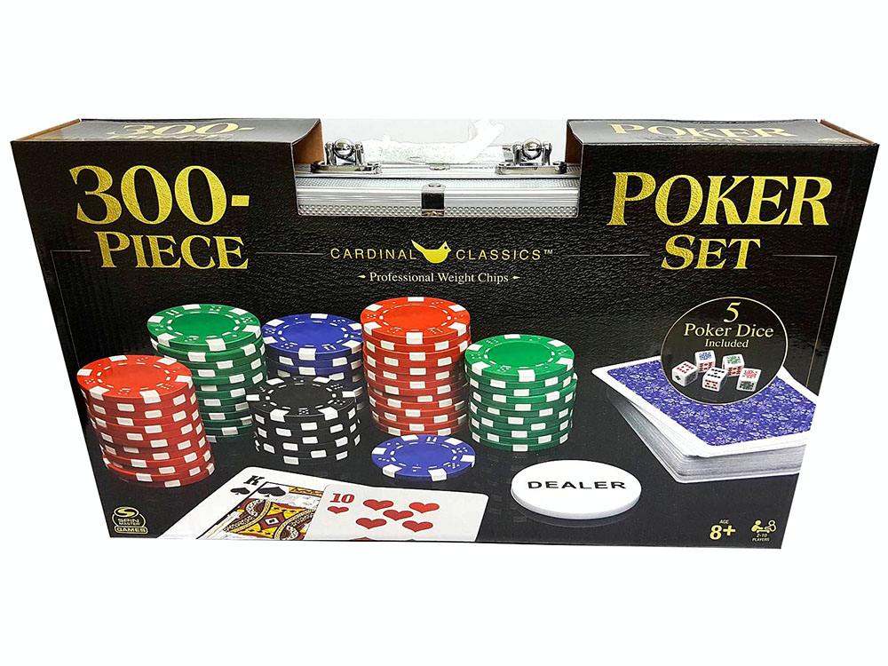 300 PIECE POKER SET(Cardinal)