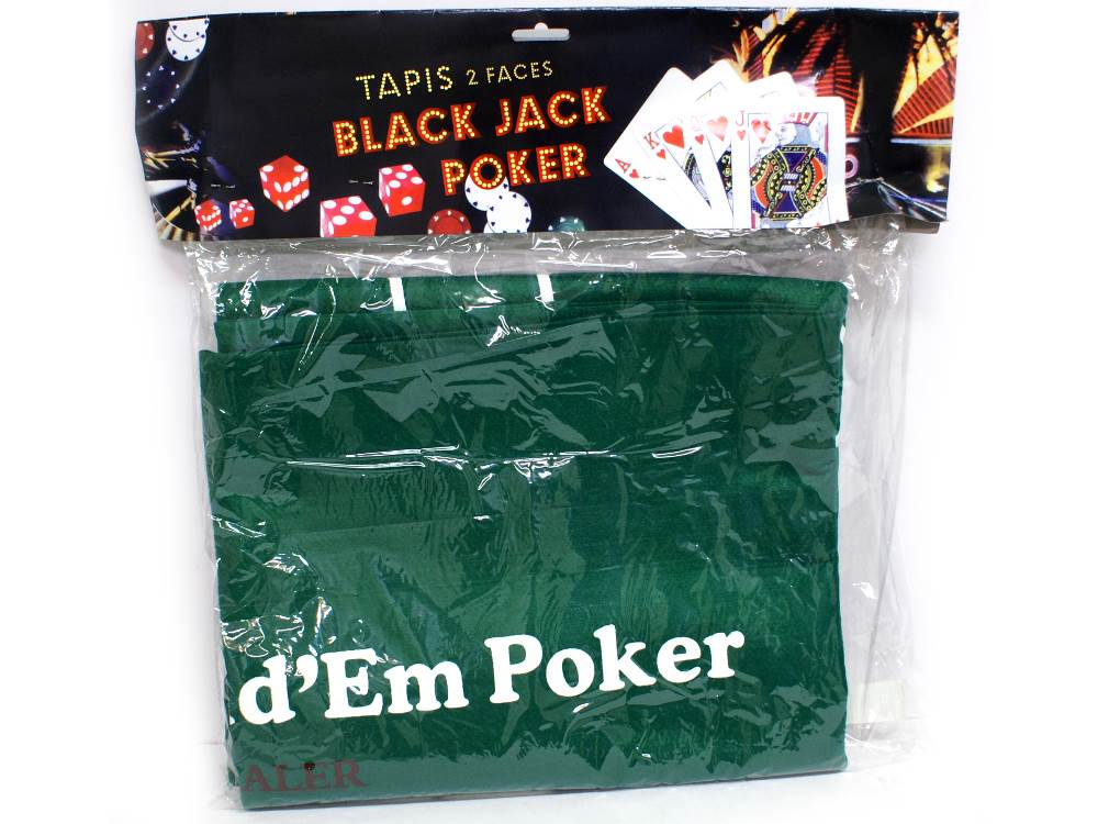 BLACKJACK & POKER MAT