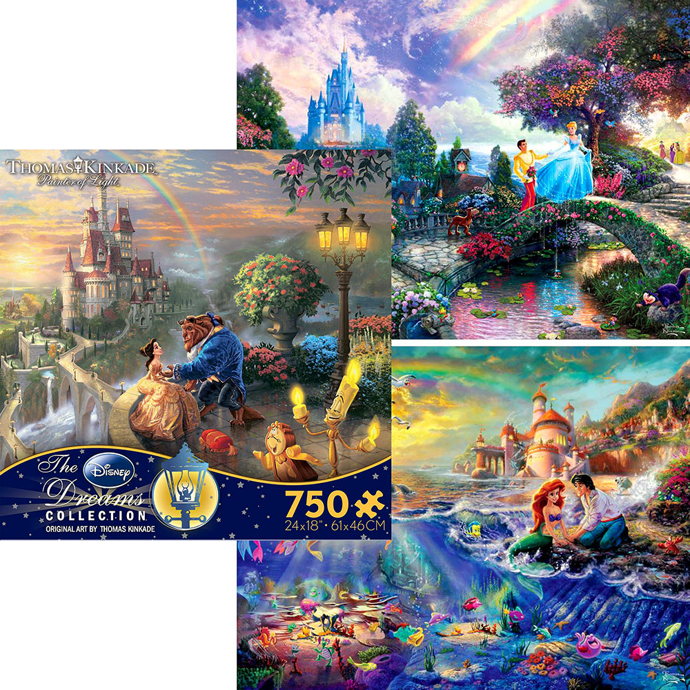 DISNEY DREAMS 750pc ASSTD. S4