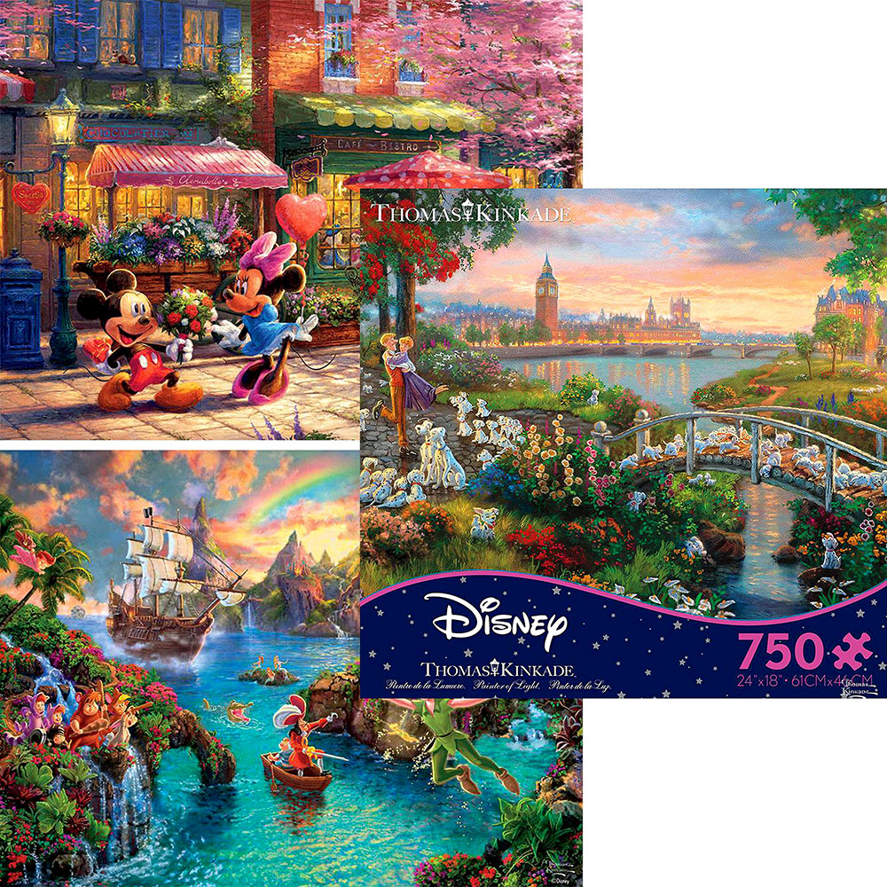 DISNEY DREAMS 750pc asstd. S7