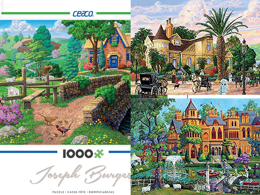 JOSEPH BURGESS 1000pc Asstd.