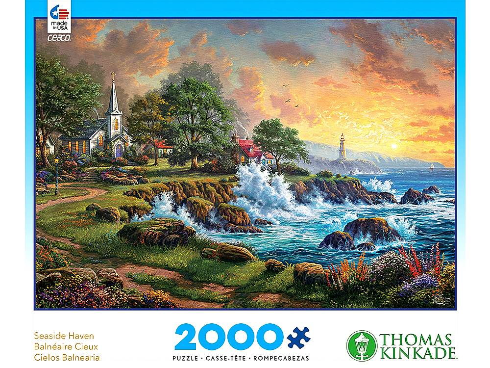 KINKADE SEASIDE HAVEN 2000pc