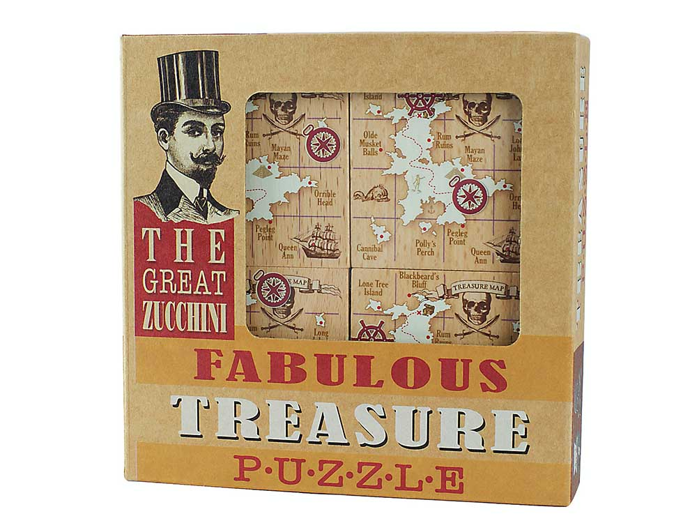 GREAT ZUCCHINI TREASURE PUZZL