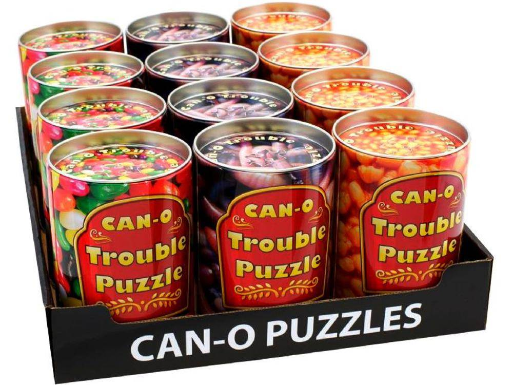 CAN-O TROUBLE PUZZLES ASSTD