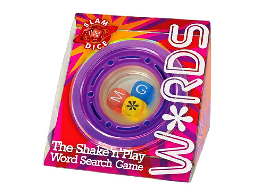SLAM DICE W*RDS GAME