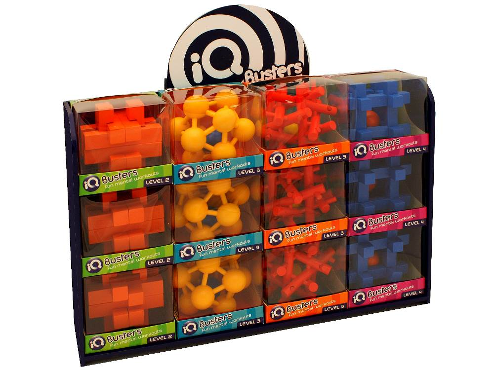 IQ BUSTERS BALL-TRAP PUZ. x 12