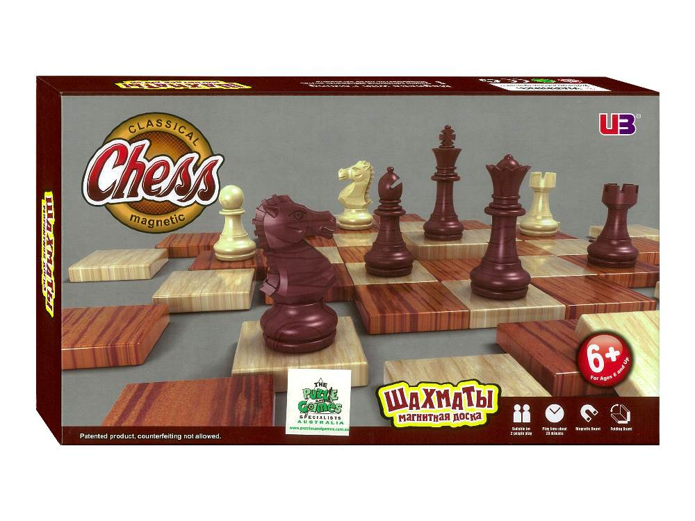 CHESS FOLDING MAGNETIC 11""