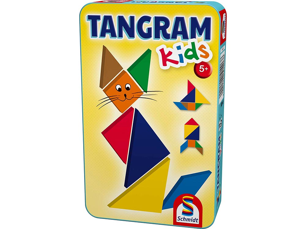 TANGRAM KIDS IN TIN (SCHMIDT)