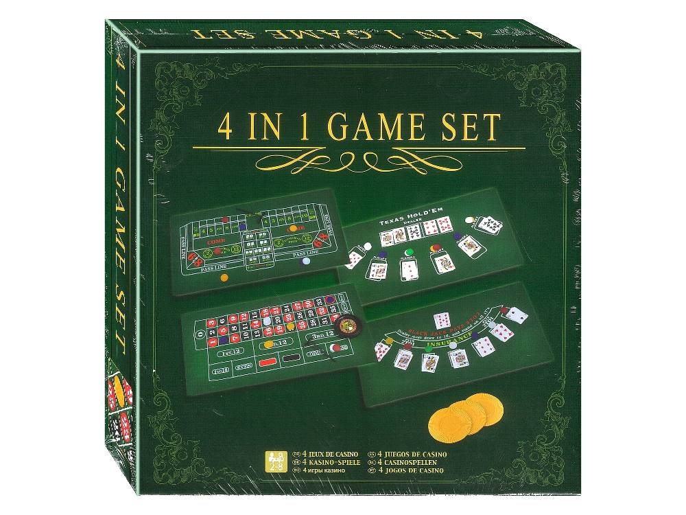4 IN 1 GAME SET (GameLand)