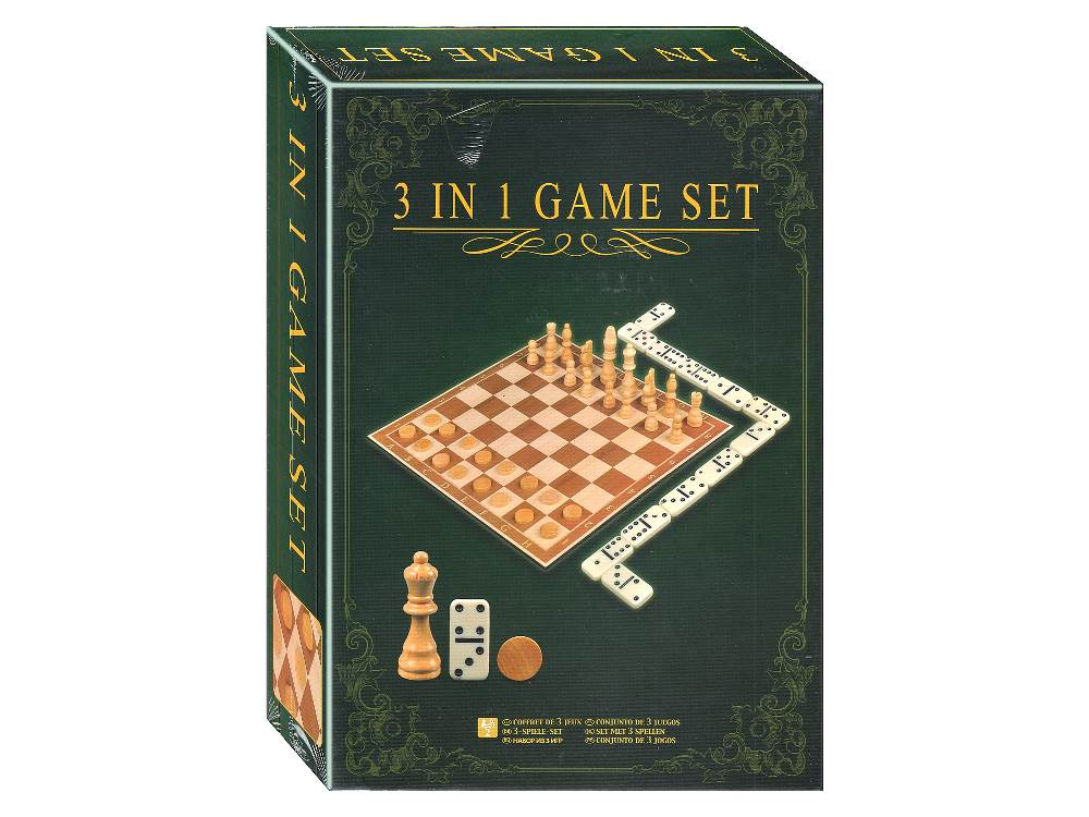 3 IN 1 GAME SET (GameLand)