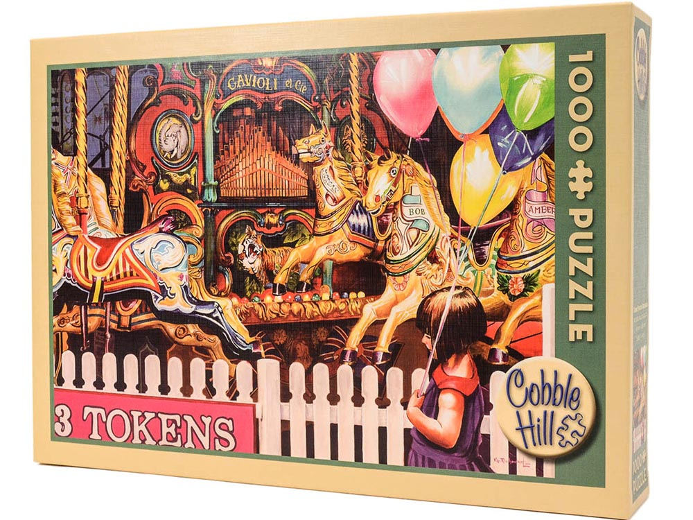 THREE TOKENS REQUIRED 1000pc