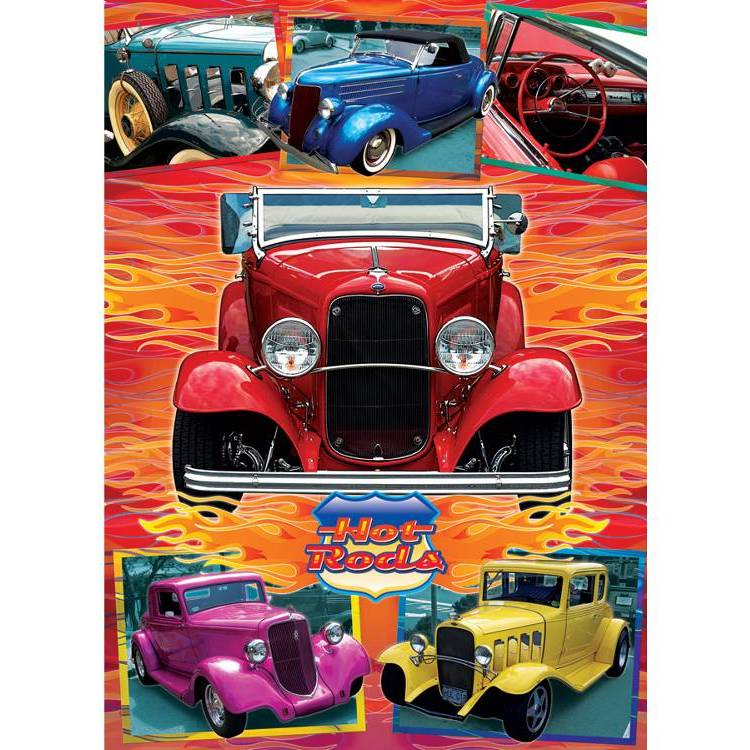 HOT RODS 1000pc